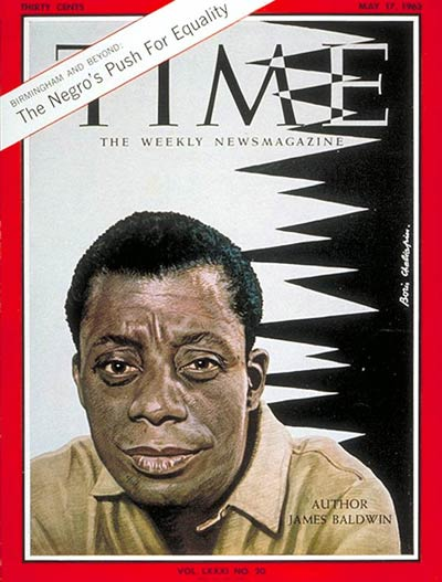 James Baldwin on the cover of TIME