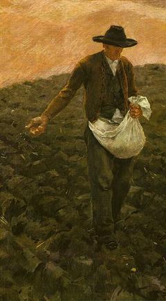 The Sower :: Albin Egger-Lienz
