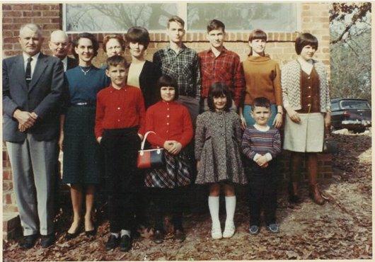 Henry family, 1965