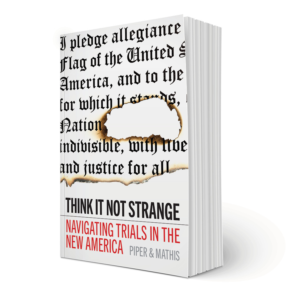 Think It Not Strange Book Cover