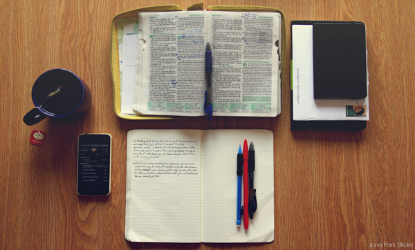 Bible and journal